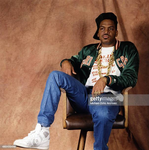 """Rapper Luke Skyywalker of the rap group """"2 Live Crew"""" poses for a portrait session on January 30, 1989."""