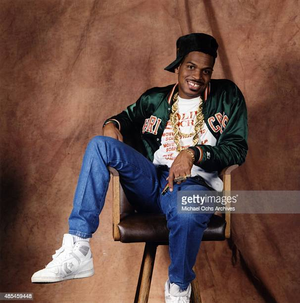 Rapper Luke Skyywalker of the rap group '2 Live Crew' poses for a portrait session on January 30 1989