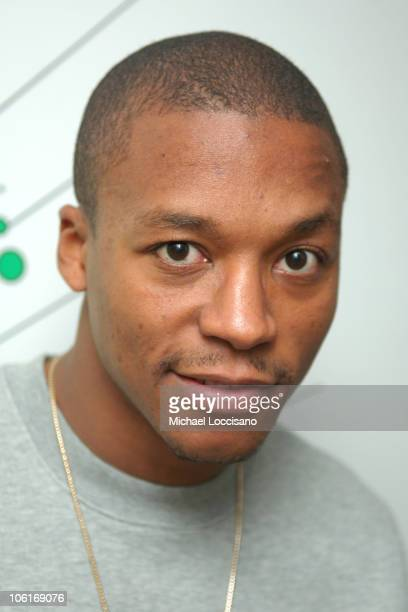 Rapper Lupe Fiasco appears on MTV's TRL at MTV Studios in New York City's Times Square on December 17 2007