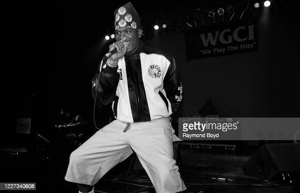 Rapper Luther Campbell, formerly of 2 Live Crew performs at the Regal Theater in Chicago, Illinois in September 1992.