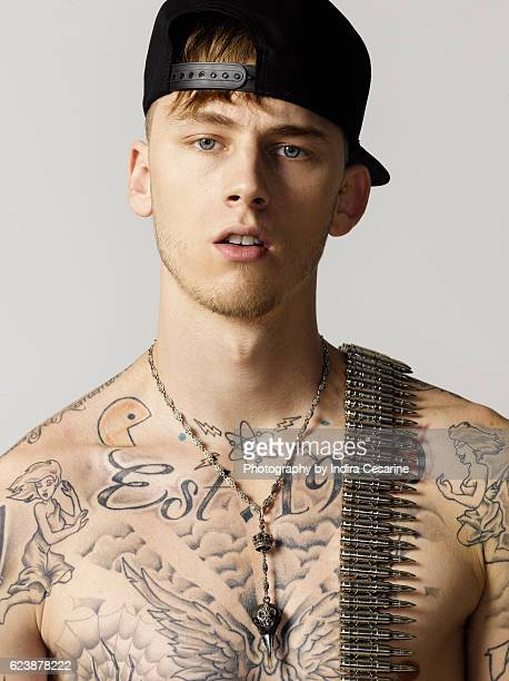 Rapper Machine Gun Kelly is photographed for The Untitled Magazine on January 28 2013 in New York City PUBLISHED IMAGE CREDIT MUST READ Indira...
