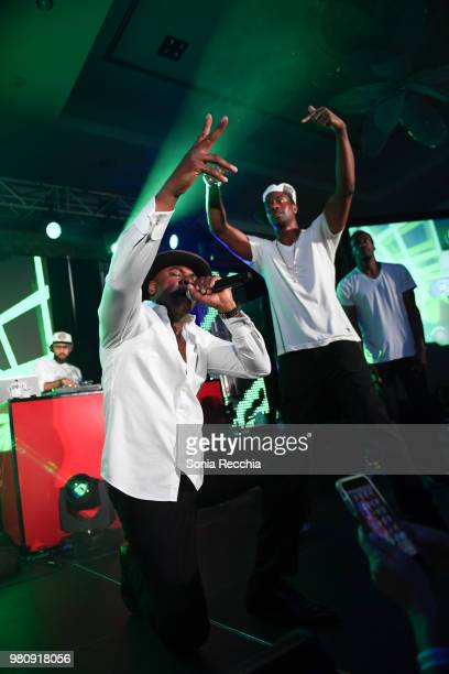Rapper Maestro Fresh Wes performs at Joe Carter Classic After Party at Ritz Carlton on June 21 2018 in Toronto Canada