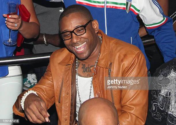 Rapper Maino celebrates New Issue of Smooth Magazine at Amnesia NYC on September 15, 2011 in New York City.