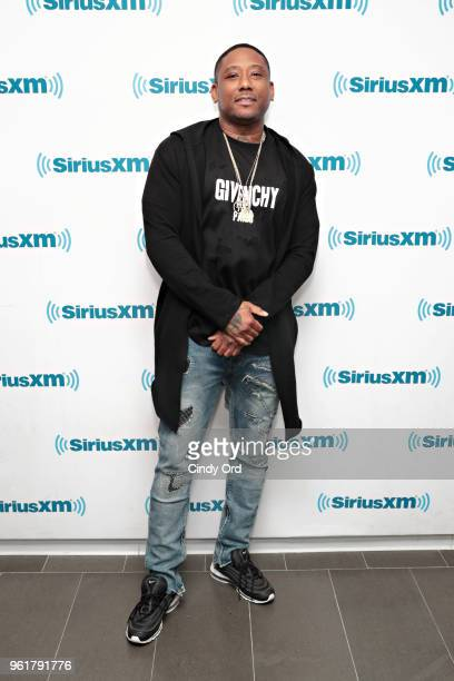 Rapper Maino visits the SiriusXM Studios on May 23 2018 in New York City
