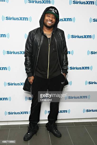 Rapper Maino visits the SiriusXM Studios on November 11 2015 in New York City