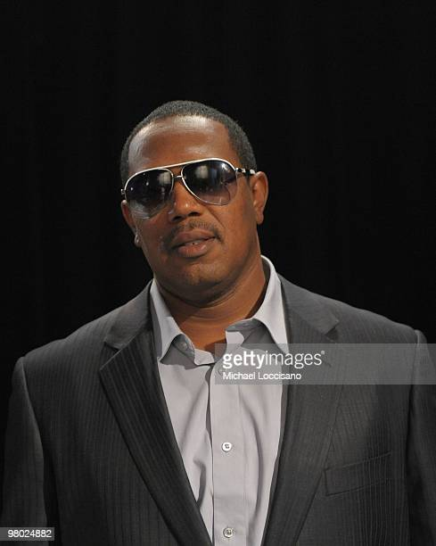 Rapper Master P visits BET's 106 Park at BET Studios on March 24 2010 in New York City