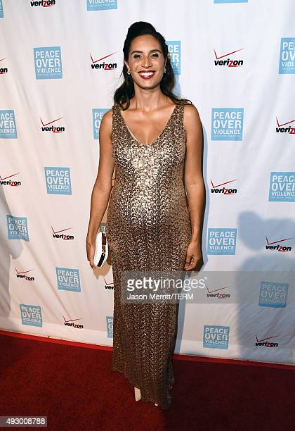 Rapper Maya Jupiter attends The 44th Annual Peace Over Violence Humanitarian Awards at Dorothy Chandler Pavilion on October 16 2015 in Los Angeles...