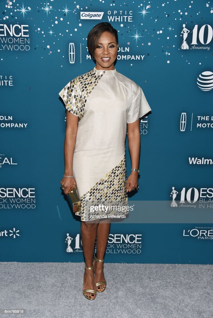 Essence 10th Annual Black Women In Hollywood Awards Gala - Arrivals : News Photo
