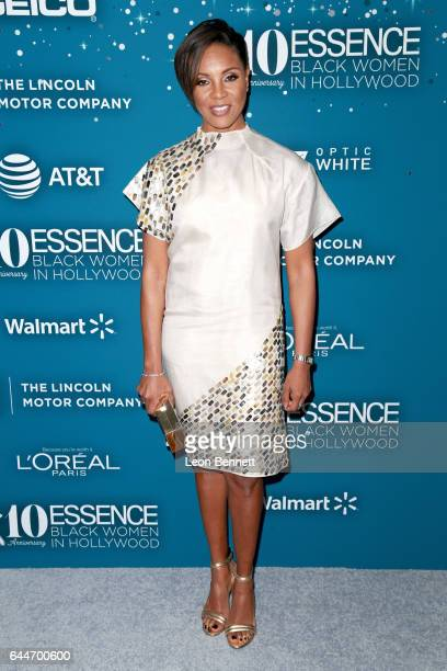 Rapper MC Lyte at Essence Black Women in Hollywood Awards at the Beverly Wilshire Four Seasons Hotel on February 23 2017 in Beverly Hills California