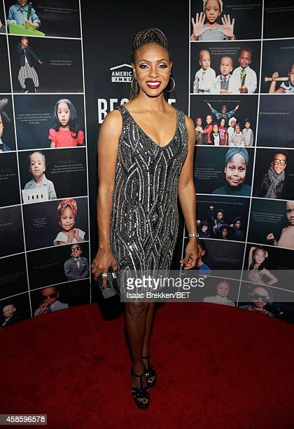 Rapper MC Lyte attends the 2014 Soul Train Music Awards at the Orleans Arena on November 7 2014 in Las Vegas Nevada