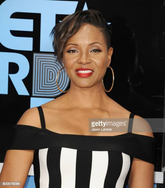 Rapper MC Lyte attends the 2017 BET Awards at Microsoft Theater on June 25 2017 in Los Angeles California