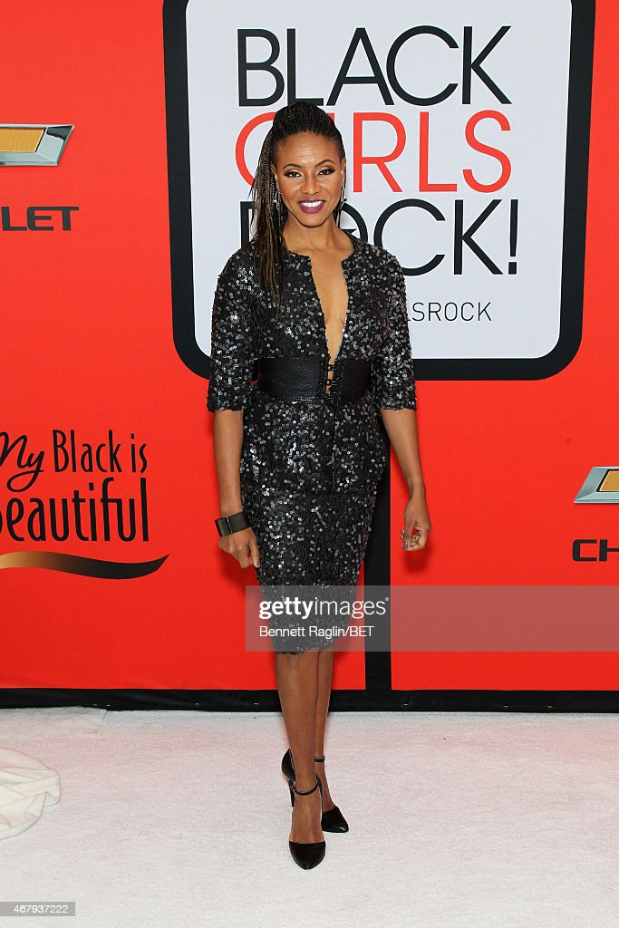"Rapper MC Lyte attends the BET's ""Black Girls Rock!"" Red ..."