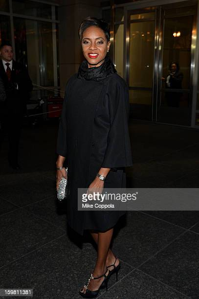 Rapper MC Lyte attends The Hip Hop Inaugural Ball II sponsored by Heineken USA at Harman Center for the Arts on January 20 2013 in Washington DC