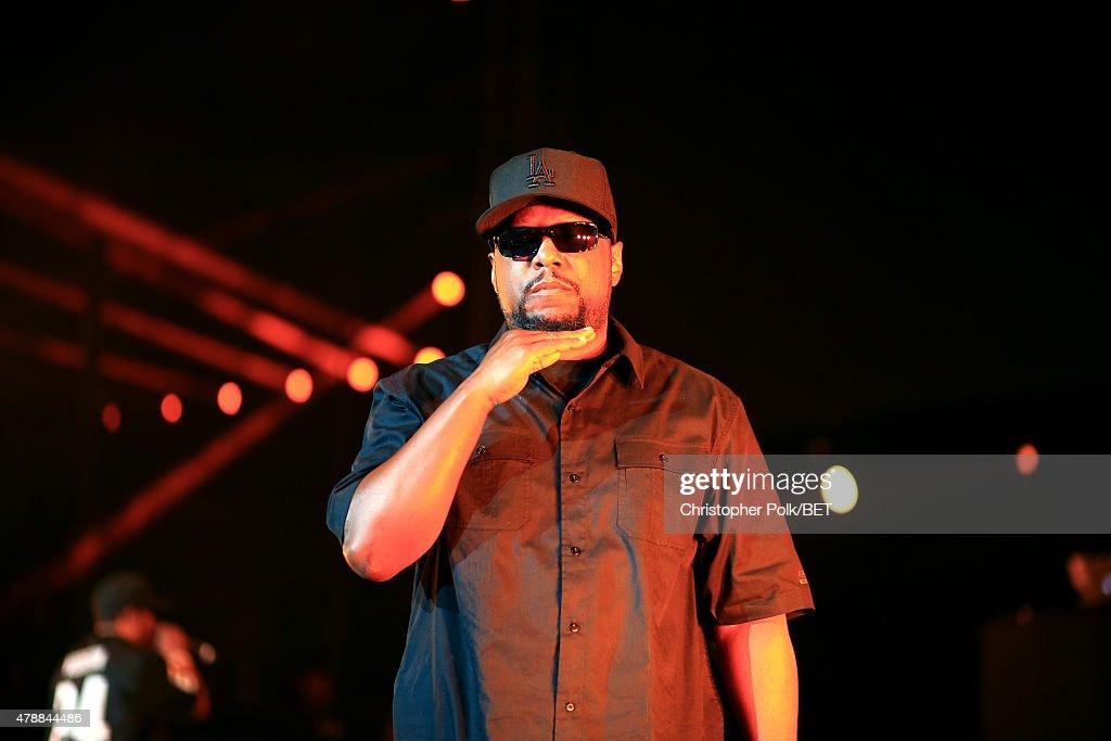 2015 BET Experience - Ice Cube, Kendrick Lamar, Snoop Dogg, Schoolboy Q, Ab-Soul, Jay Rock : Nieuwsfoto's