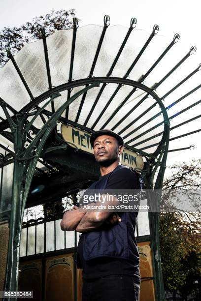 Rapper MC Solaar is photographed for Paris Match on October 16 2017 in Paris France