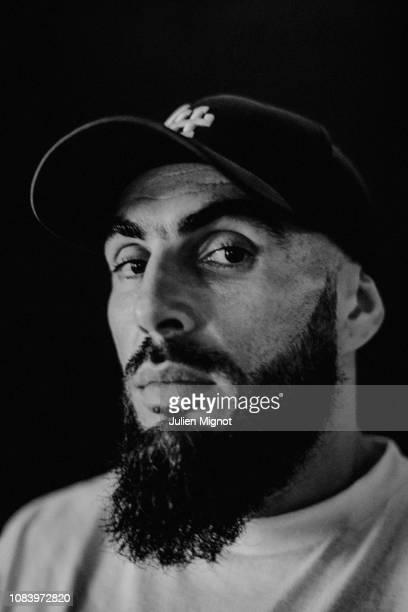 Rapper Medine poses for a portrait on September 2018 in Le Havre France