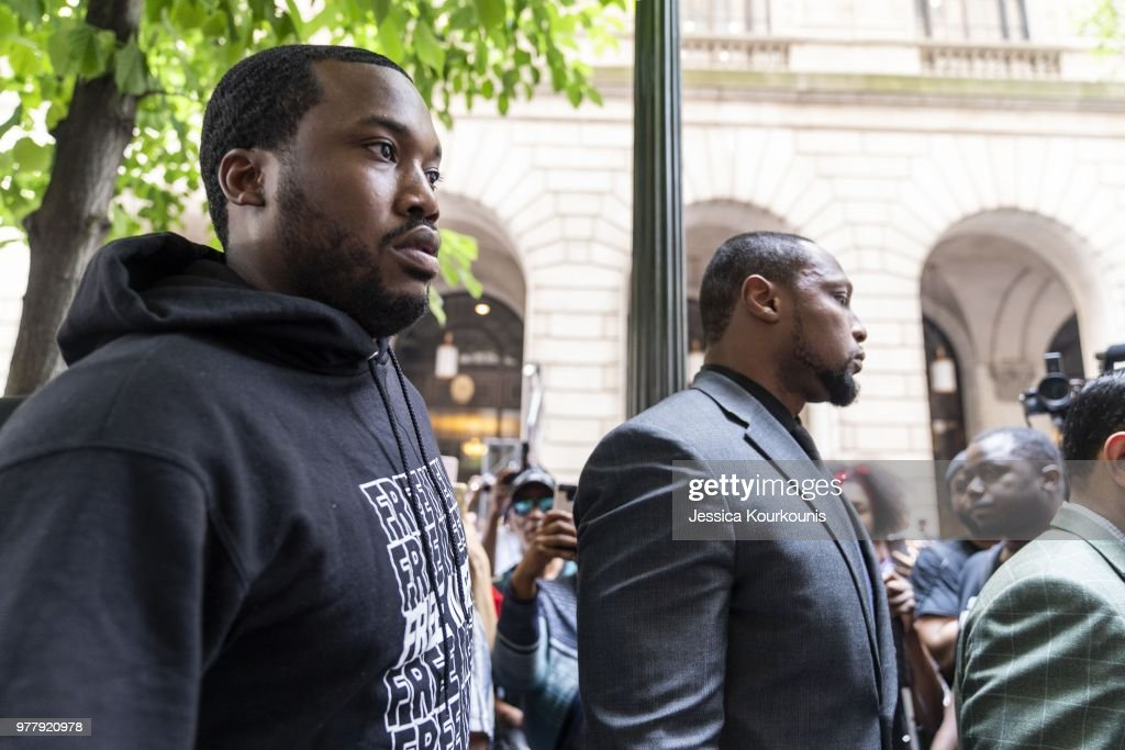 Rapper Meek Mill Returns To Court In Philadelphia For Post-Conviction Appeal