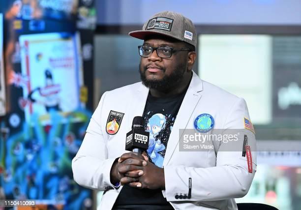 """Rapper Mega Ran visits Build Series to discuss a new album """"The Dewey Decibel System"""" at Build Studio on June 17, 2019 in New York City."""