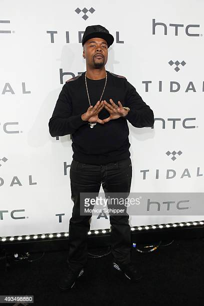 Rapper Memphis Bleek attends TIDAL X 1020 at Barclays Center on October 20 2015 in the Brooklyn borough of New York City