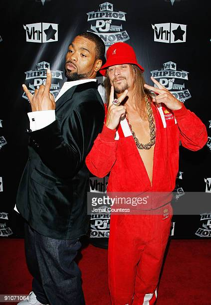 Rapper Method Man and Musician Kid Rock attend the 2009 VH1 Hip Hop Honors at the Brooklyn Academy of Music on September 23 2009 in the Brooklyn...