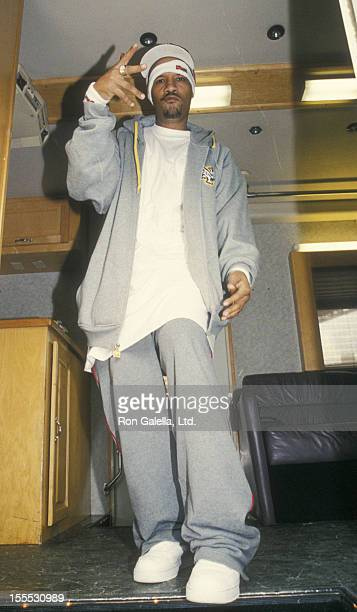 Rapper Method Man of Wu Tang Clan attends the book party for Hip Hop Immortals on October 8 2002 at the Atrium in New York City