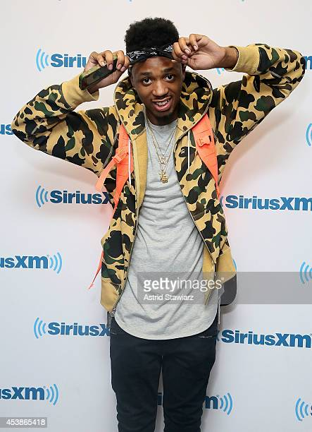 Rapper Metro Boomin visits the SiriusXM Studios on August 20 2014 in New York City