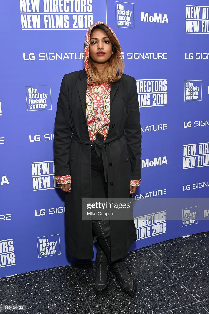 Rapper M.I.A. attends New Directors/New Films Opening Night at Museum of Modern Art on March 28, 2018 in New York City.