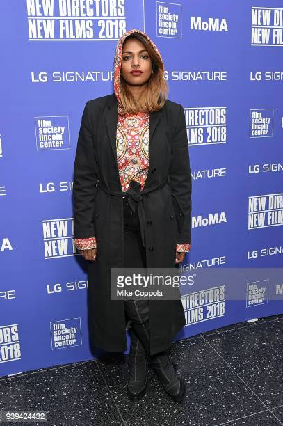 Rapper MIA attends New Directors/New Films Opening Night at Museum of Modern Art on March 28 2018 in New York City