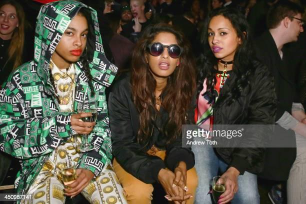 Rapper MIA attends the iD Futuristic Fashion Event at Cedar Lake on November 20 2013 in New York City