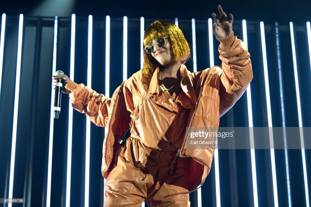 Rapper M.I.A. performs at ComplexCon 2017 on November 5, 2017 in Long Beach, California.