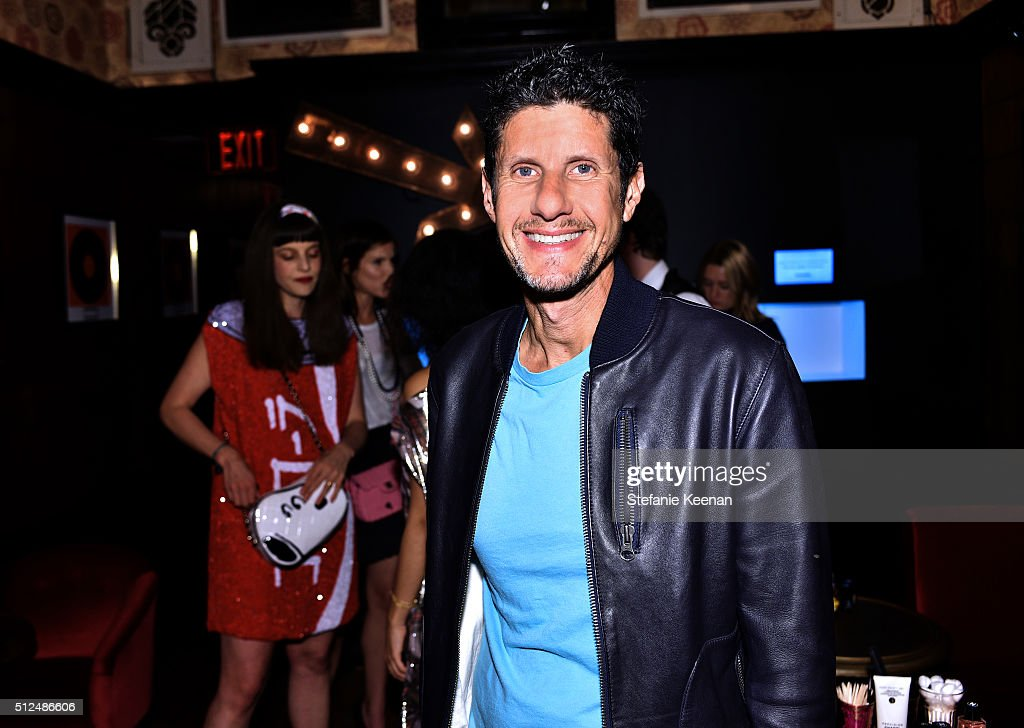 Rapper Mike D attends the I Love Coco Backstage Beauty Lounge at Chateau Marmont's Bar Marmont on February 25, 2016 in Hollywood, California.