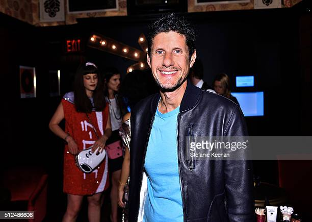 Rapper Mike D attends the I Love Coco Backstage Beauty Lounge at Chateau Marmont's Bar Marmont on February 25 2016 in Hollywood California