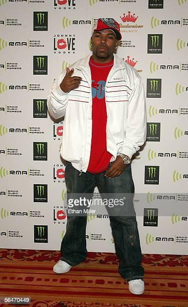 Rapper Milano arrives at the 2005 Radio Music Awards offical after party at the Aladdin Casino Resort on December 19 2005 in Las Vegas Nevada