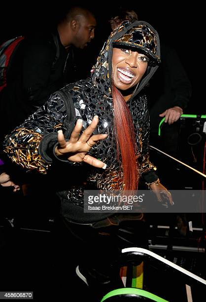 Rapper Missy Elliott attends the 2014 Soul Train Music Awards at the Orleans Arena on November 7, 2014 in Las Vegas, Nevada.