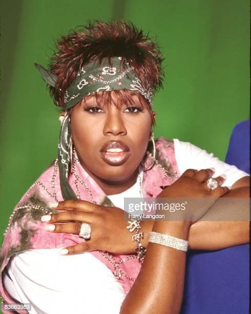 Rapper Missy Elliott poses for a portrait on December 14 2006 in Miami Beach Florida