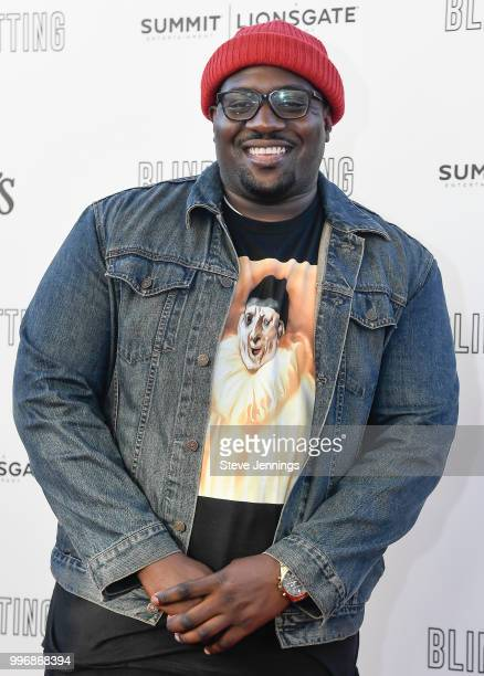 Rapper Moe Green attends the Premiere of Summit Entertainment's 'Blindspotting' at The Grand Lake Theater on July 11 2018 in Oakland California