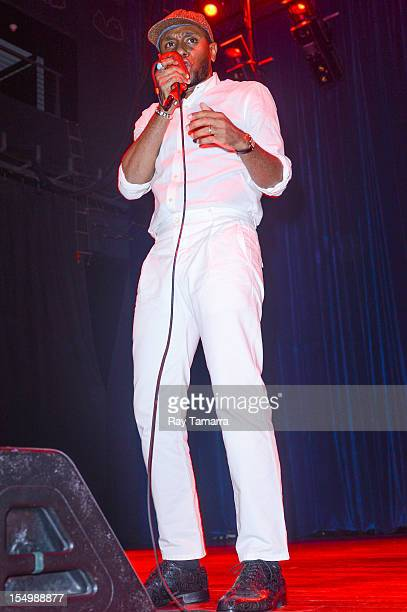 Rapper Mos Def of Black Star performs at the House Of Blues At The Showboat Atlantic City on October 27 2012 in Atlantic City New Jersey