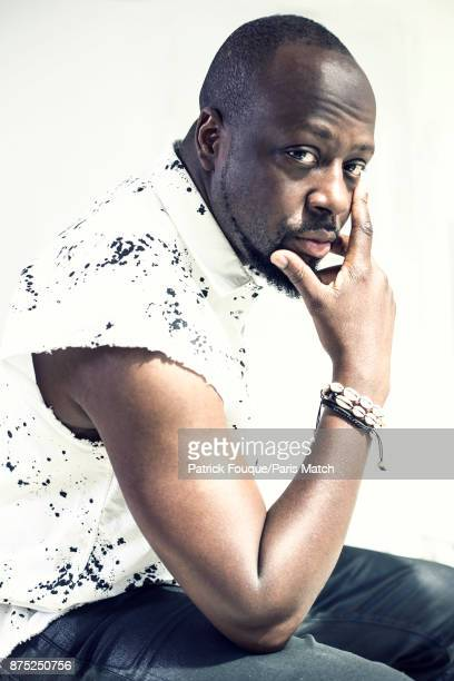 Rapper musician and actor Wyclef Jean is photographed for Paris Match on June 13 2017 in Paris France