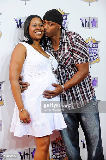Rapper Mystikal and friend attend 2010 VH1 Hip Hop Honors at Hammerstein Ballroom on June 3 2010 in New York New York