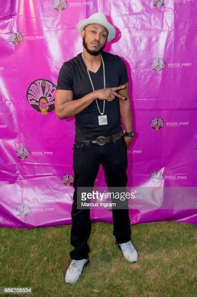 Rapper Mystikal attends 2017 Atlanta Funkfest at Wolf Creek Amphitheater on May 20 2017 in Atlanta Georgia