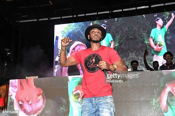 Rapper Mystikal performs on stage at A3C Festival And Conference on October 9 2016 in Atlanta Georgia