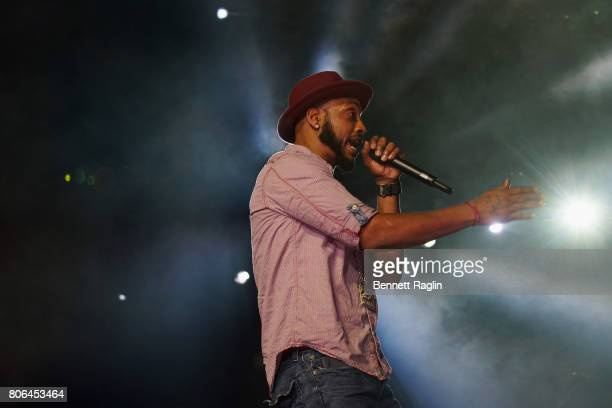 Rapper Mystikal performs onstage at the 2017 ESSENCE Festival Presented By Coca Cola at the MercedesBenz Superdome on July 2 2017 in New Orleans...