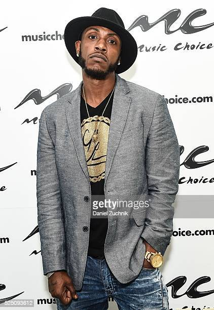 Rapper Mystikal visits Music Choice on April 27 2016 in New York City