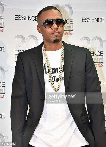 Rapper Nas attends the 2014 Essence Music Festival on July 3 2014 in New Orleans Louisiana
