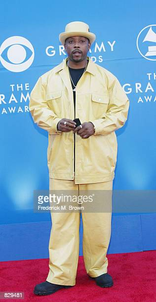 Rapper Nate Dogg attends the 44th Annual Grammy Awards at Staples Center February 27 2002 in Los Angeles CA