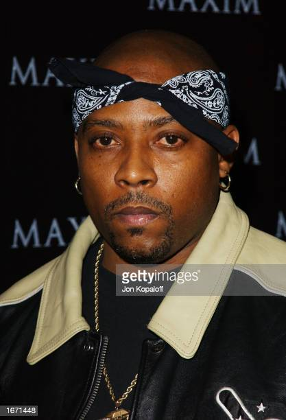 Rapper Nate Dogg attends the Maxim Magazine Heats Up Los Angeles With The Pussycat Dolls party to celebrate the December issue of Maxim magazine at...