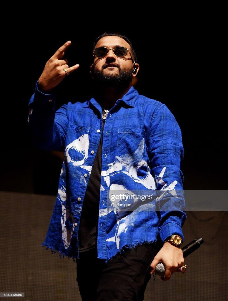 Rapper NAV aka Navraj Goraya performs during Bay Nites at the Bill Graham Civic Auditorium on March 31, 2018 in San Francisco, California.