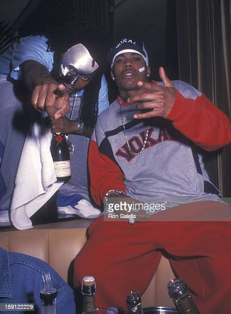 Rapper Nelly and his posse the St. Lunatics attend the 19th Annual MTV Video Music Awards Pre-Party Hosted by PlayStation 2 and Nelly on August 28,...