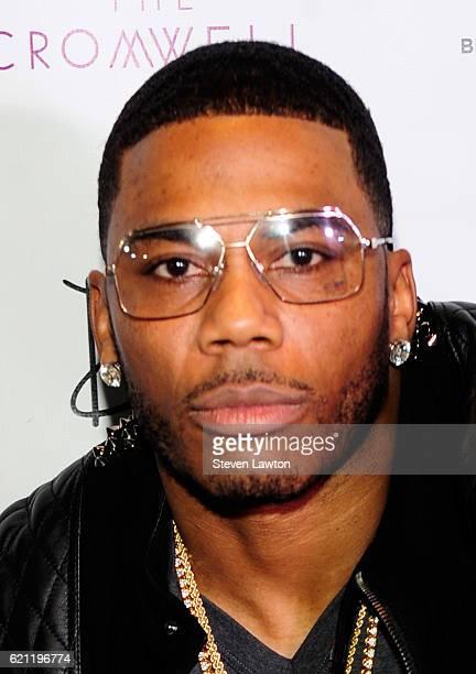 Rapper Nelly arrives at Drai's Beach Club Nightclub at The Cromwell Las Vegas on November 5 2016 in Las Vegas Nevada