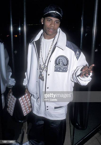 Rapper Nelly attends the 21st Annual St Jude Children's Research Hospital Hollywood Gala on March 1 2001 at the Beverly Hilton Hotel in Beverly Hills...